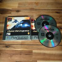 Sony PlayStation 1 PS1 PAL Game - Chase The Express - Platinum - Complete Good