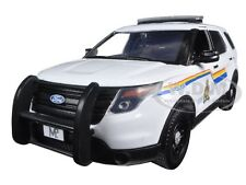 2015 FORD POLICE INTERCEPTOR ROYAL CANADIAN POLICE CAR 1/24 MOTORMAX 76961