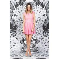 FINDERS KEEPERS - Mr Jones Dress (FX121203D - Pink/Biscuit)
