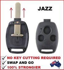 3B FITS Honda Jazz Remote Car Key Shell 2006 2007 2008 2009 2010 2011 2012 2013