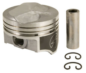 SPEED PRO Hypereutectic H581CP Pistons 8-PACK Dome for BBC Chevy 454