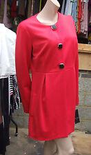 Frank Lyman Canada neuf avec étiquette 14 SENSATIONNEL coquelicot rouge Manteau