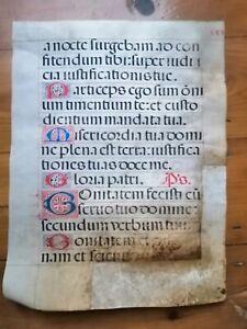 vellum manuscript