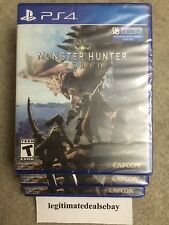 Monster Hunter: World (Sony PlayStation 4, 2018) *BRAND NEW*