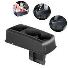 Latest Black Seat Seam Wedge Drink Cup Holder Travel Drink Mount Stand Storage