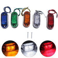 1Pc 2LED Side Marker Clearance Light Lamp Car Truck Trailer Caravan Lamp_ti