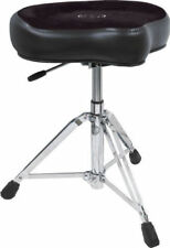 Roc-N-Soc NROK Nitro Drum Throne w/ Saddle Seat, Black