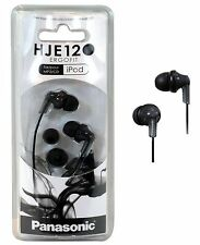 Panasonic RP-HJE120 Headphone Earphone In-Ear Earbud Ergo-Fit Black FreeShipping