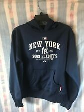 NEW YORK YANKEES VINTAGE 2009 THERMAL SWEATSHIRT CHILD SIZE (M) AUTHENTIC MLB