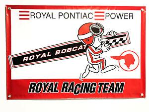 Royal Pontiac Racing Team 24''x36'' Garage Shop Banner GTO Firebird Grand Prix