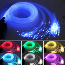 Fiber Optic Star Light 16W RGBW LED Light Kit 300pcs 2M 0.75mm+Bright Crystal