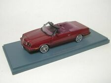 DODGE 600 convertible (red metallic)