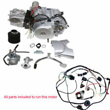 125cc 3+1 Semi Auto 3 Speed Reverse Engine Motor ATV QUAD BIKE Buggy Wire Carby