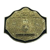 CHRIS JERICHO WWE WCW Big Gold Title Championship Belt Pin