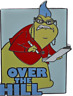 Disney Pin 68278 Monsters Inc Roz Over the Hill Disneyland First Release on Card