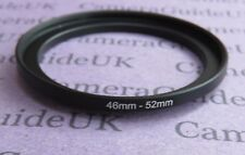 46mm to 52mm Male-Female Stepping Step Up Filter Ring Adapter 46mm to 52mm UK