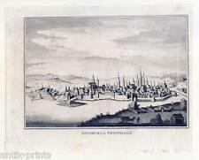 Osnabrück-osnaburg en Westphalia-grabado de John Fielding 1782