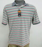Daniel Cremieux Performance Multicolor Striped S/S Men's Shirt NWT $75 Choose Sz