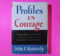 Profiles in Courage by John F. Kennedy 1956 Memorial Edition 1st Printing JFK