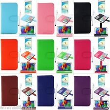 Wallet PU Leather Case Flip Smart Cover Stand For Samsung Galaxy S5 i9600