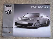 Lumma Porsche panorama folleto Jm
