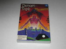 Demon's Tomb: The Awakening (PC, IBM, XT,Tandy, 1989) SEALED, Rare, Vintage Game