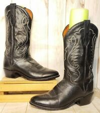 Vintage ?Justin ? Cowboy Boots Made in the USA Men Sz 10.5 EE
