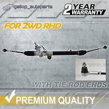 POWER STEERING RACK BOX FOR HOLDEN RODEO RA 2WD 2003-2008 WITH TIE ROD ENDS
