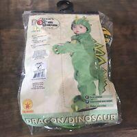 Dinosaur child costume Romper Infant size 6-12 months EUC!