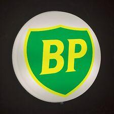 BP BRITISH PETROLEUM Light Box LED SIGN Games Room man cave garage workshop
