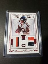 2015 Jeremy Langford /33 Panini National Treasures Dual Patch CHICAGO BEARS RC