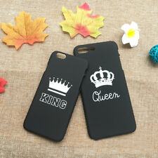 1x Couple KING QUEEN Etui Housse Coque Case Pour iPhone 5S SE 6 6S Plus 7 7 Plus