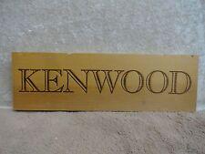 KENWOOD WOOD WINE PANEL END