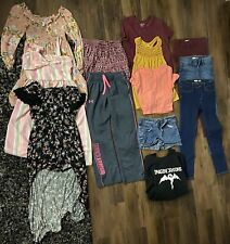 Girls tween clothes lot of 13 Pieces size 12 -xs Adult