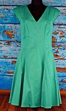 Jessica Simpson Women's Dress Size 8 V-Neck Sleeveless Casual Turquoise NEW