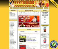 BUSINESS MONEY MAKING STORE Affiliate Website Ebay+Amazon+Google+Dropship