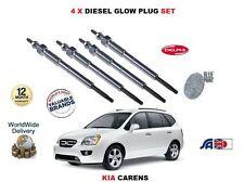 FOR KIA CARENS 1.6TD D4FB 2010-12 > NEW 4 X DIESEL GLOW PLUGS SET