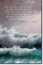 Hunter S. Thompson preventivo POSTER 2-FOTO STAMPA ARTE REGALO-braved the Storm