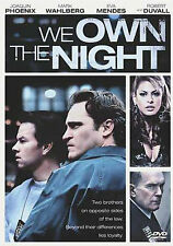 We Own The Night (DVD, 2008) New Sealed w/ Slipcover
