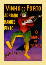 Porto Wine Vinho Adriano Ramos Pinto by Cappiello Vintage Poster Repro FREE S/H