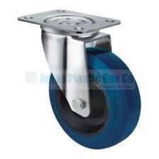 Wheel & Castor - Heavy Duty - S,Blue 80mm Swivel