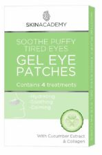 Skinacademy Gel Eye Patches Soothe Puffy Tired Eyes 4 Treatments