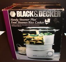 New ListingBlack And Decker Handy Steamer Plus Food Steamer/Rice Cooker Hs90