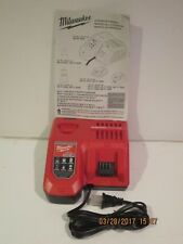 Milwaukee 48-59-1808 12V&18V M12&M18 Rapid Charge Battery Charger-F/PRI-SHP NWOB