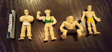 "Vintage STREET FIGHTER Mini Gumball Miniature Figures 1-3/4"" Tall - LOT OF 4!"