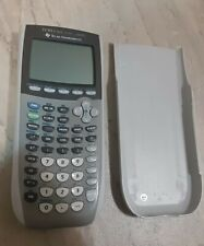 Texas Instruments TI-84 Plus Silver Edition Graphing Calculator W/Cover Tested