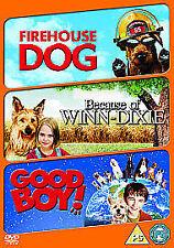Firehouse Dog/ Because Of Winn-Dixie/ Good Boy (DVD, 2009, 3-Disc Set) UNWANTED
