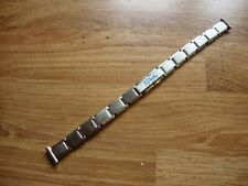 Ladies EXPANDRO Vintage 10mm NOS S/S Expander German Made Watch Strap