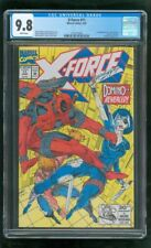 CGC 9.8 X-FORCE #11 MARVEL COMICS 1992 1ST APPEARANCE REAL DOMINO DEADPOOL 2 h