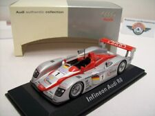 """Audi R8 #1 """"Infineon"""" Le Mans 2002, Audi Dealer (Minichamps) 1:43, OVP"""